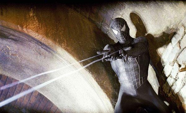 《蜘蛛侠3》片段 黑色异变