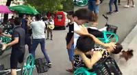 南昌共享单车出事了 20多人街头互殴