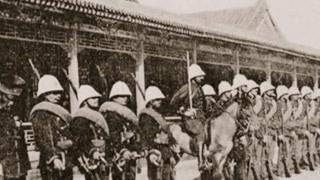 1901年初因八国联军攻入北京 仓皇逃往西安的慈禧太后正式下诏变法