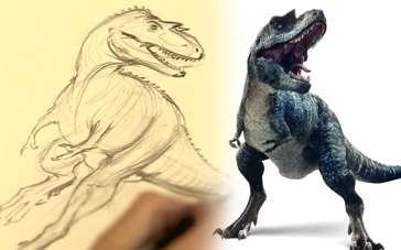 《与恐龙同行》制作特辑 肉食龙钢爪铁嘴凶猛危险