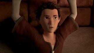 第七个小矮人:恶龙抓到杰克向女巫报告 小矮人出发讲故事