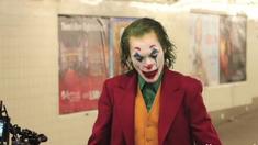 小丑 纽约布鲁克林地铁拍摄片场