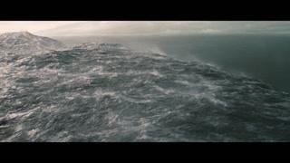 这个星球全是水 巨浪滔天