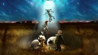 《小羊肖恩2:末日农场》空降新客,肖恩横冲直撞大闹太空