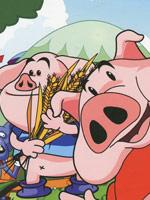 三只小猪学英语