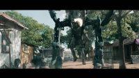 肌肉猛男火力全开大战机械蜘蛛,谁胜谁负?