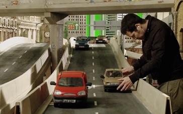 《小羊肖恩》幕后拍摄直击 人工搭建大型木偶城市