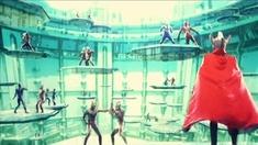 超银河传说 片段之奥特曼训练场