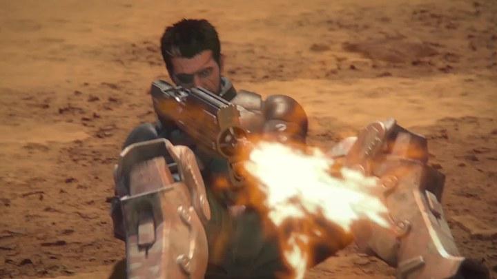 星河战队:火星叛国者 预告片1