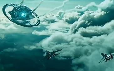 《莫斯科陷落》首曝预告 外星飞船驾临俄罗斯