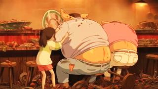 老爸老妈因为贪吃变成猪