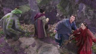 天荫一行人被妖王追杀 妖界大妖已经把他们逼上了悬崖边缘