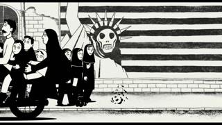 尽管伊朗女性被封建约束但是大胆的玛姬认识了朋克和乐队