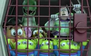 《玩具总动员2》片段 安检奇遇记