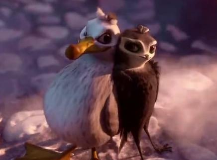 """《尼斯大冒险》""""鸟鼠大战""""版预告 裸眼3D动画电影踢爆大反派"""