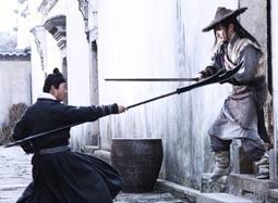 《倭寇的踪迹》片段 神秘剑客挑战四大门