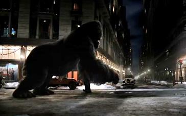 《金刚》中文拍摄特辑 技术升级逼真猩猩回归银幕
