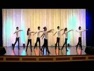 《奋斗》现代舞