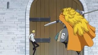 山治霸气反抗并与父亲决斗!山治:现在的你们太弱了!