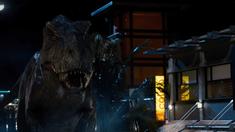侏罗纪世界 片段之T Rex vs Indominus Rex