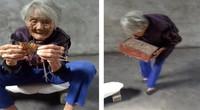 """97岁老奶奶展示当年自己嫁妆 网友:三寸金莲却是""""隐形富豪"""""""
