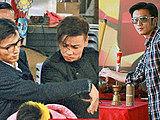 《赌城风云》片场 谢霆锋张晋大斗拳法