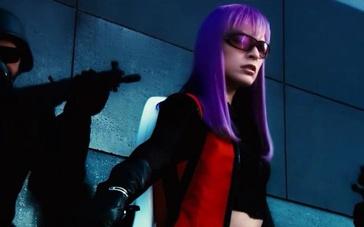 《致命紫罗兰》片段 生化女一人秒杀数名大兵