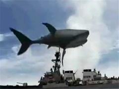 巨鲨大战食人鳄片花