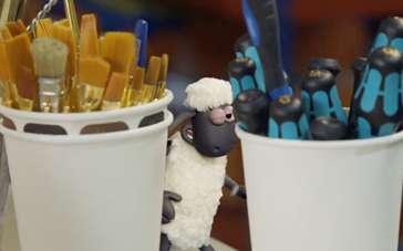 《小羊肖恩》中文特辑 模型师保证人偶关节灵活