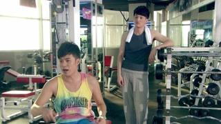 《爱情公寓3》曾小贤的锻炼 只有仰卧没有起坐