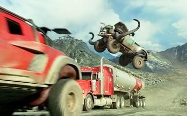 《怪兽卡车》电视预告 超级卡车极限跳跃