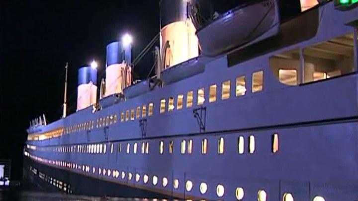 泰坦尼克号 花絮3:下沉