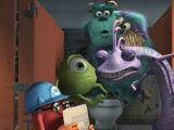 《怪兽电力公司》中文片段 怪兽惊吓小孩大比拼