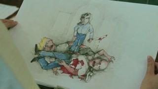 别的小孩都画的父母的工作  埃文长大后却要杀人