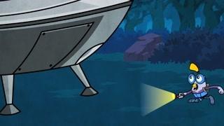 阿犀发现外星人飞船