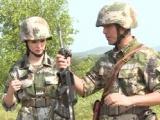 李蜜进军营感受极限训练 分享特战化初体验