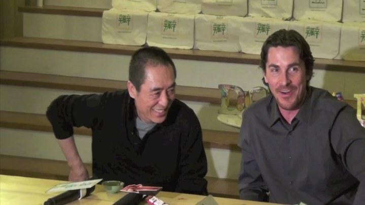 金陵十三钗 其它花絮:贝尔、张艺谋与豆瓣网友喝茶