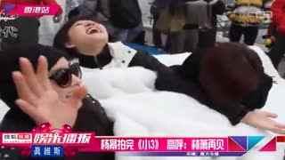 《小时代3》杀青杨幂安心养胎 高呼:林萧再见