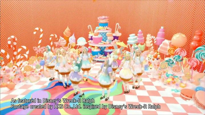 无敌破坏王 MV:AKB48演唱片尾曲《Sugar Rush》