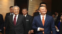 马来西亚总理到访阿里巴巴,马云亲自带领参观