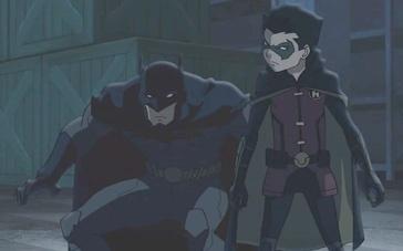《蝙蝠侠大战罗宾》中文预告 罗宾叛逆父亲蝙蝠侠