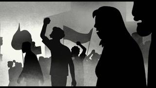 民众走上街头抗议地方军队被武装镇压
