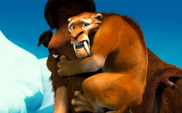 3D《冰川时代2》再发中文预告 黄磊为剑齿虎配音