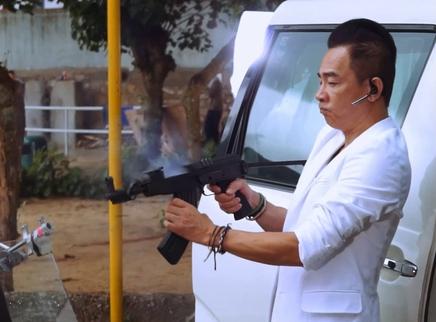 《黑白迷宫》动作特辑 陈小春开枪上瘾