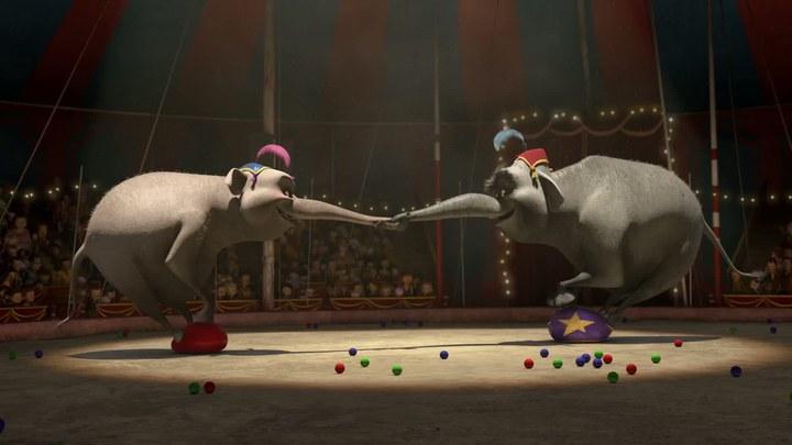"马达加斯加3 片段3:""Bad Circus"""