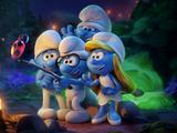 《蓝精灵:寻找神秘村》蓝精灵变身小学生搞事情 另类吐槽为孩子发声