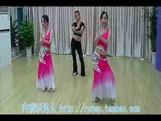 月亮舞蹈视频傣族 民族舞女子舞蹈傣族舞《月亮》舞蹈大全