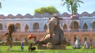 大象做起瑜伽竟如此娴熟
