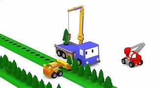 和迷你卡车学习 植树 精华版