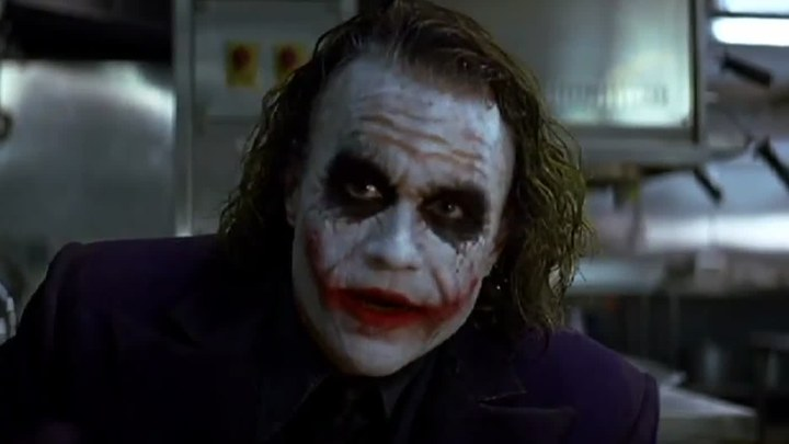 蝙蝠侠:黑暗骑士 片段: 希斯·莱杰-小丑